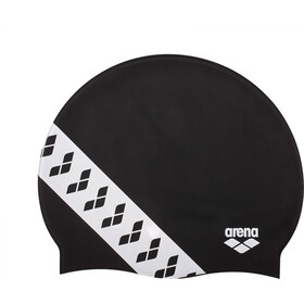 arena Team Stripe Badehætte, black